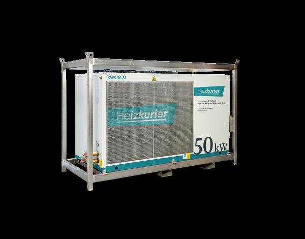 Mobiler Kaltwassersatz 50 kW