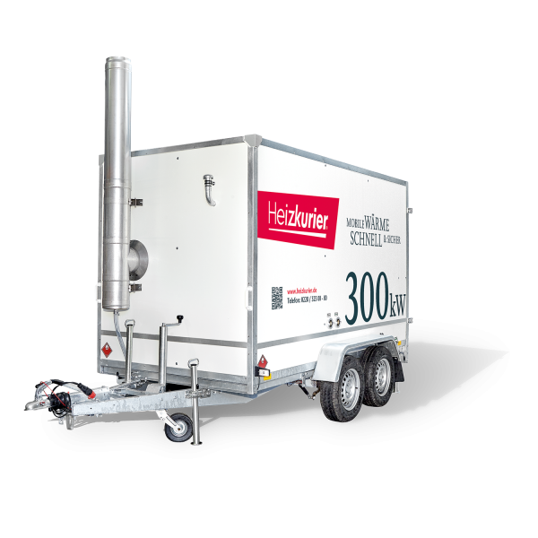 Mobile Heizzentrale 300 kW