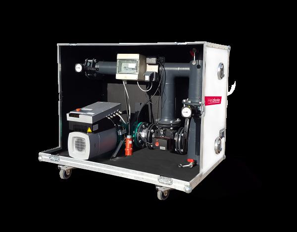 Mobile Pumpengruppe bis 600 kW