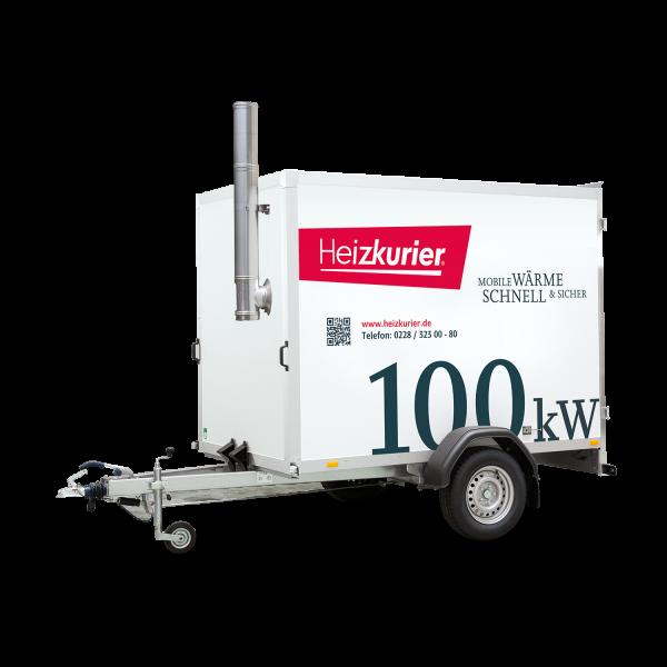 Mobile Heizzentrale 100 kW
