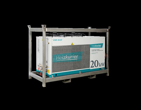 Mobiler Kaltwassersatz 20 kW