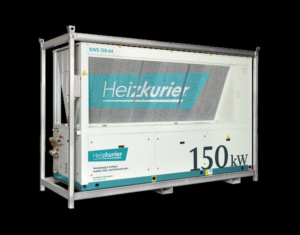 Mobiler Kaltwassersatz 150 kW