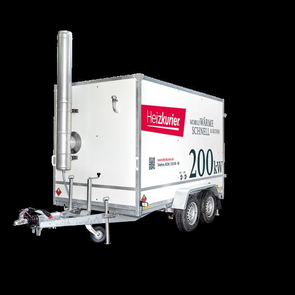 Mobile Heizzentrale 200 kW