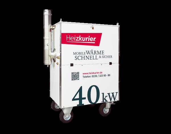 Mobile Heizzentrale 40 kW Kompakt