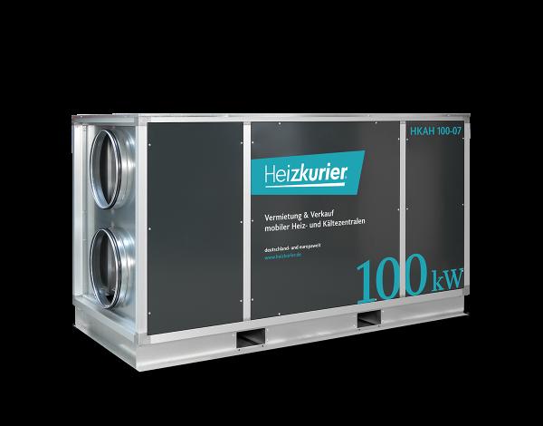 Mobiler Airhandler 100 kW