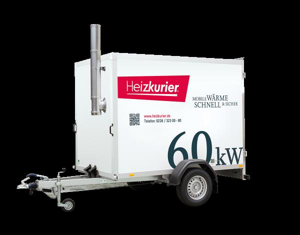 Mobile Heizzentrale 60 kW
