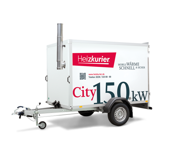 Mobile Heizzentrale 150 kW City