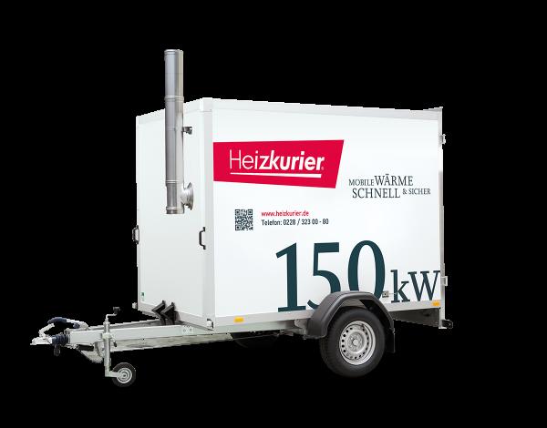 Mobile Heizzentrale 150 kW