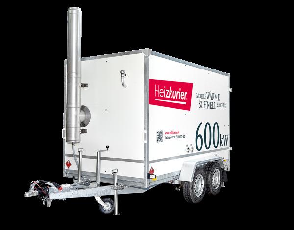 Mobile Heizzentrale 600 kW