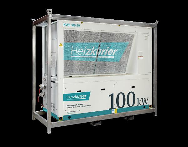 Mobiler Kaltwassersatz 100 kW