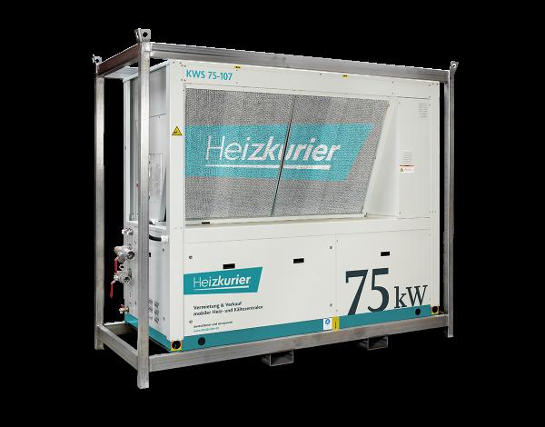 Mobiler Kaltwassersatz 75 kW