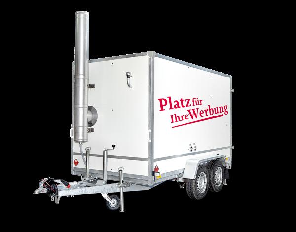 Mobile Heizung 950 kW Anhänger Standard