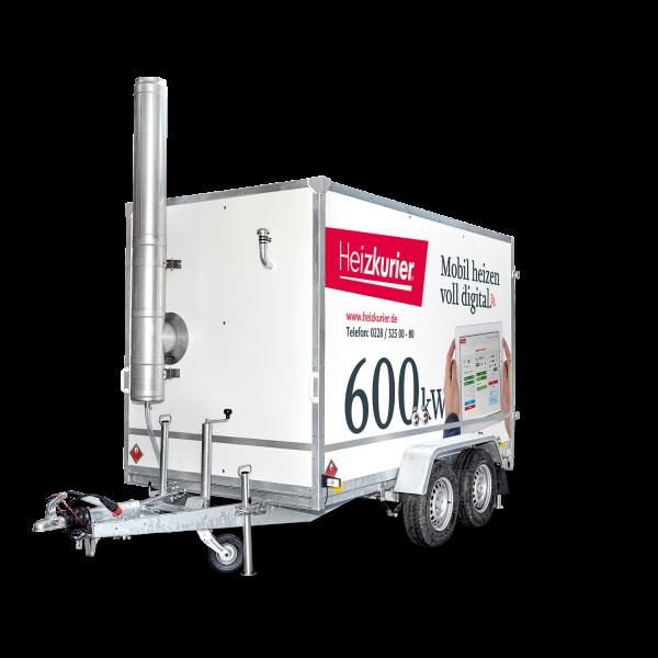 Mobile Heizzentrale 600 kW Digital
