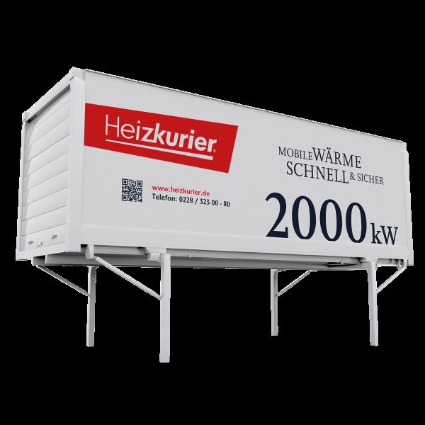 Mobile Heizzentrale 2000 kW